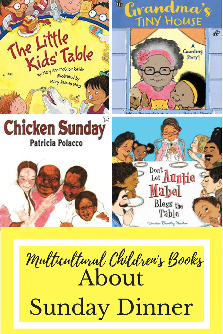 Multicultural Children's Books About Sunday Dinner